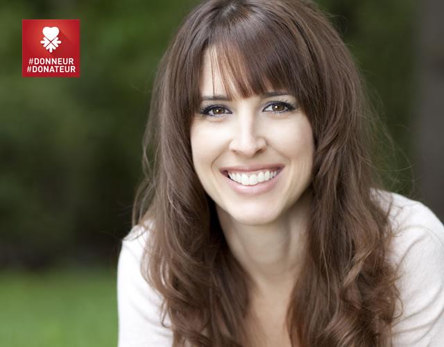 Ludivine a été transplantée et est devenue donatrice pour France ADOT