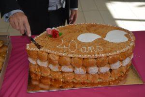 gâteau 40 ans ADOT 85