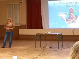 Christelle témoigne du don de moelle osseuse qui a changé sa vie en 2002