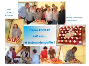 Les 40 ans de l'ADOT22